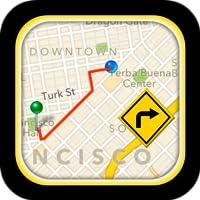 GPS Ruta de conducción
