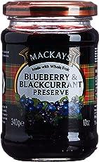Mackays Bluebry and Blackcurrant Preserve, 340g