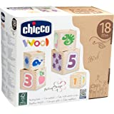 Stacking wood Cubes Toy for Childern by Chicco
