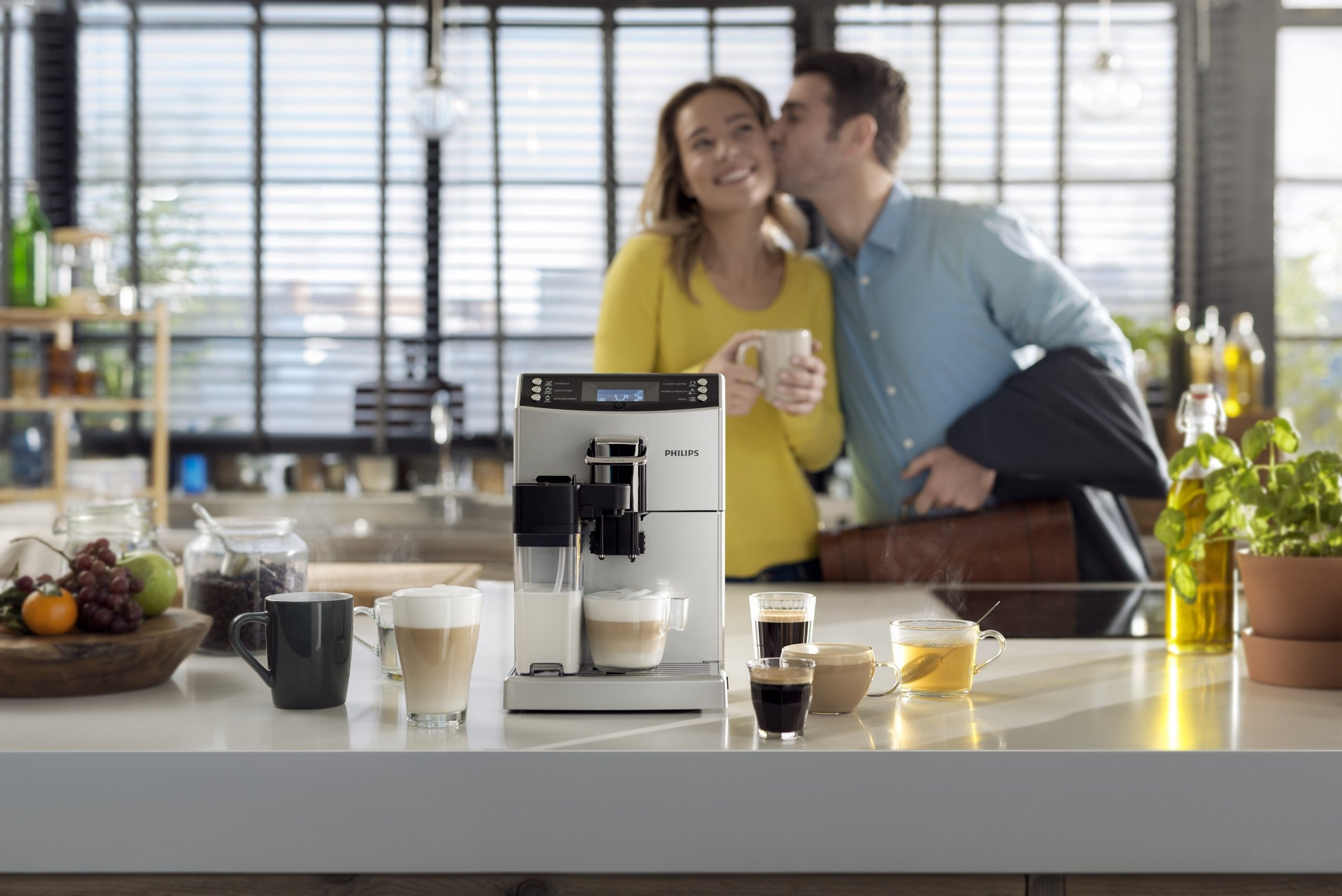 Philips-EP405010-Kaffeevollautomat-18-Liter-CoffeeSwitch-Milchkaraffe-AquaClean-silber