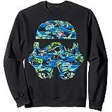 Star Wars Stormtrooper Hawaiian Print Helmet Sweatshirt