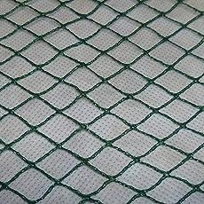 Aquagart Vielseitigs Teichnetz, 5m x 6m, dunkelgrün, engmaschig: Maschenweite 15mm x 15mm, Laubnetz, Teichabdecknetz, Vogelabwehrnetz, Reihernetz robust