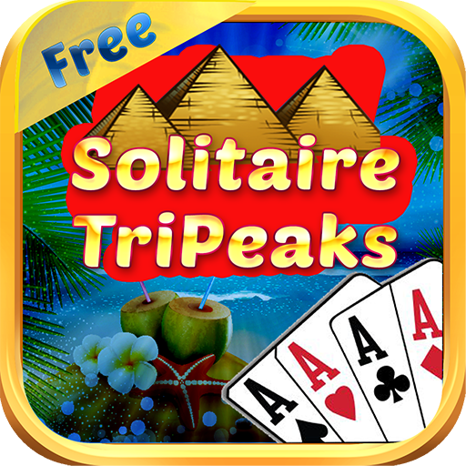 Pyramid Tri Peaks Beach Solitaire Free – Card Towers Game Pack for Kindle Fire (Kindle Fire Background)