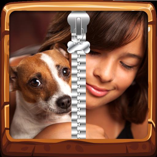 My Best Friend Dog Zip-Verschluss