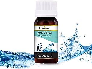 Devinez Aqua Fresh Reed Diffuser Fragrance Oil, 15ml each