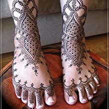 Henna Mehndi Designs On Legs For Girls