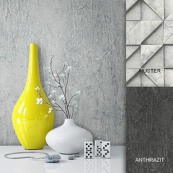 Stone vinyl wallpaper light grey elegant, beautiful 3D graphics ...
