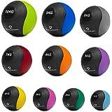 POWRX Slam Ball Balón Medicinal 5 kg - Ideal para Ejercicios ...