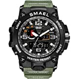 Fashion sport uomini militare impermeabile LED digitale orologio Luxury casual Wristwatch