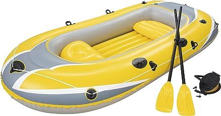 Bestway Hydro-Force Raft Set Boot 255x127 cm mit Blasebalg und 2 Rudern