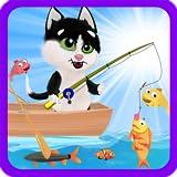 pesca con il gatto - giornata di pesca per bambini