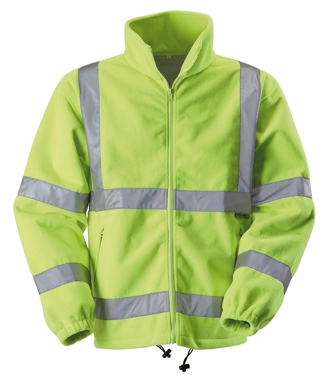Blackrock Men's Hi-Vis Fleece Jacket Yellow EN471 Class 3: Amazon ...