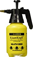 Kisan Kraft KK-PS1000 Manual Sprayer (1 Litre, Color May Vary, Plastic)