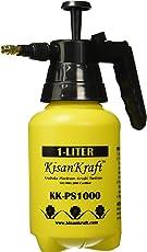 Kisan Kraft KK-PS1000 Manual Sprayer (1 Litre, Color May Vary, Plastic)