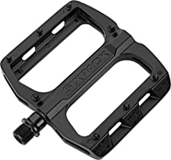 SixPack Racing Menace Stealth Pedale, schwarz, One Size