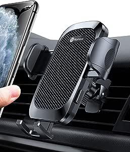 Humixx Handyhalterung Auto Stabiler Dreieckige Design Handyhalter Für Lüftung 360 Grad Drehbar Und Aufrecht Halten Universal Kfz Handyhalterung Für Iphone Samsung Huawei Lg Und Alle Smartphones Elektronik
