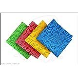 Westfalenstoffe * Junge Linie * Stoff Paket Punkte * 4 FAT QUARTER gelb-rosa-grün-hellblau