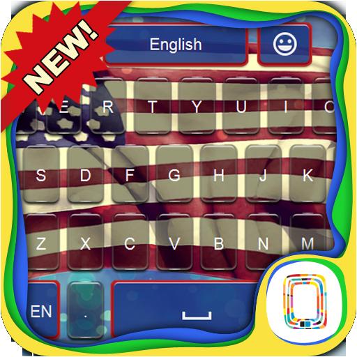 US Flag keyboard