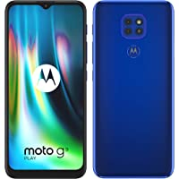 "moto g9 play Dual-SIM Smartphone (6,5""-Max Vision-HD+-Display, 48-MP-Dreifach-Kamerasystem, 64 GB/4 GB, Android 10) Blau…"