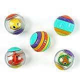 Bright Starts 5 Balles d'Activités Shake & Spin