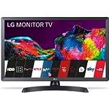 LG - 28TN515S-PZ, Monitor Smart TV da 70 cm (28') con schermo LED HD (1366 x 768, 16:9, DVB-T2/C/S2, WiFi, 5 ms, 250 CD…
