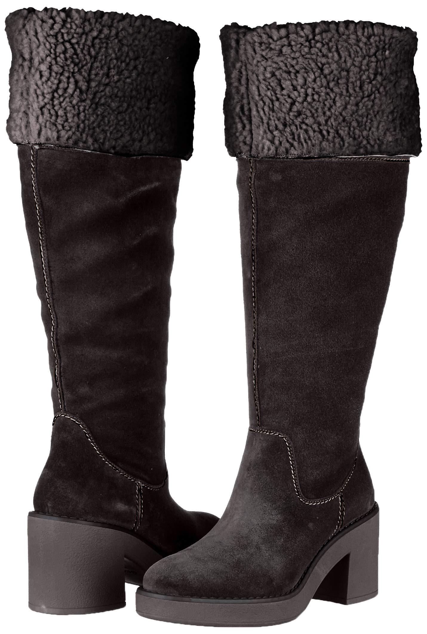 Geox Damen D Adrya Mid B Hohe Stiefel 5