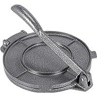 Moligh doll Presse à tortilla 20,3 cm en alliage d'aluminium pliable - Outil de presse à tortilla antiadhésif pour la…