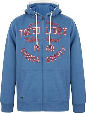 Tokyo Laundry Men's Harper Zip Through Hooded top