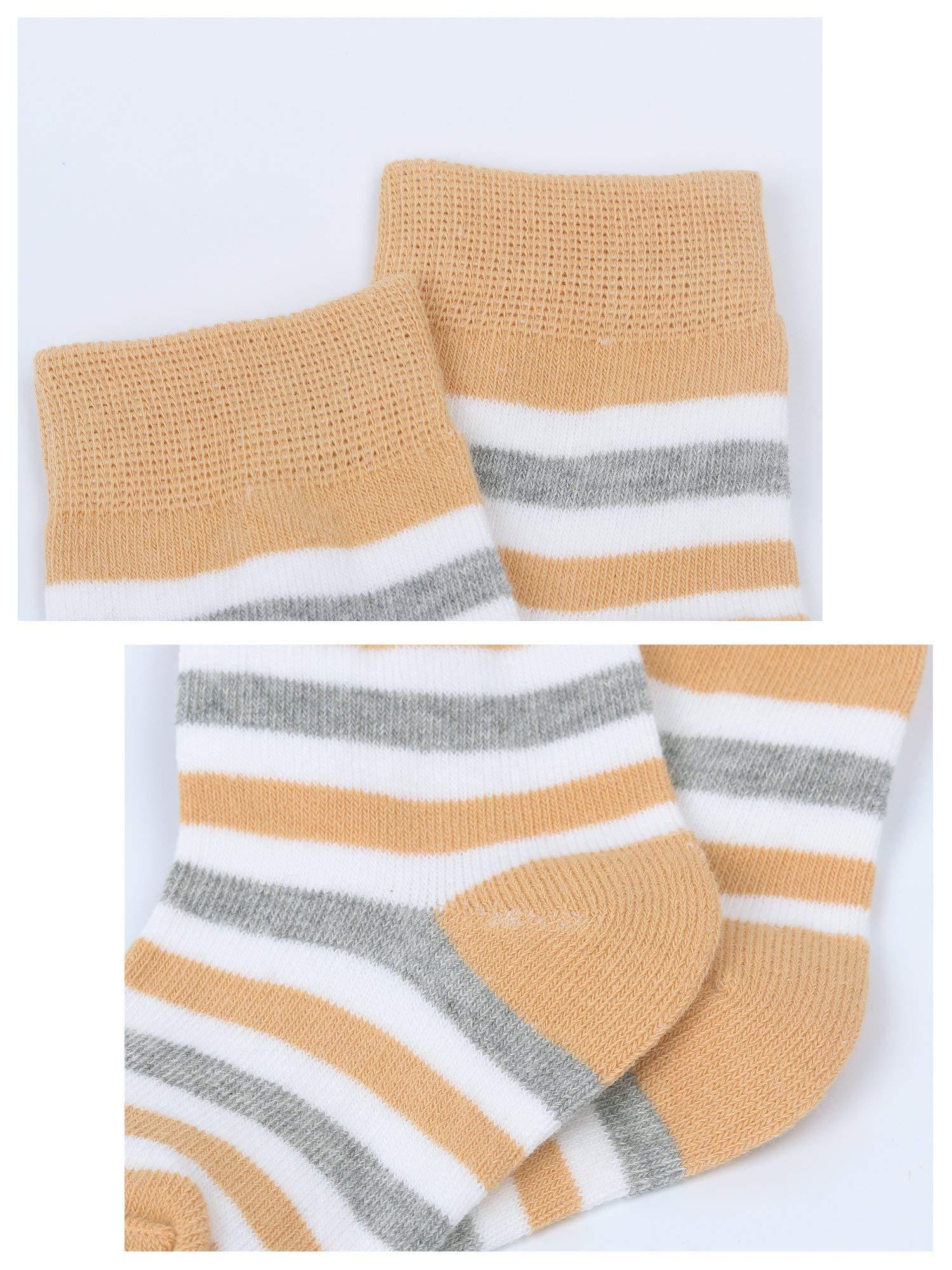 DEBAIJIA Niños Niñas Calcetines De Algodón Cómodo Suave Jogging Absorben el Sudor Antibacteriano primavera verano otoño… 2