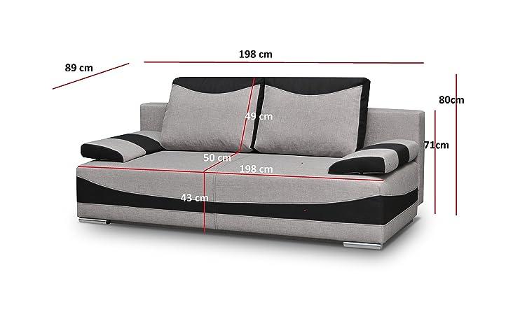 Couch Mit Schlaffunktion Sofa Schlafsofa Wohnzimmercouch Bettsofa