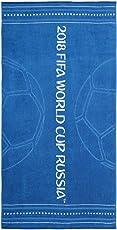 Spaces FIFA 450 GSM Cotton Bath Towel - Navy Blue