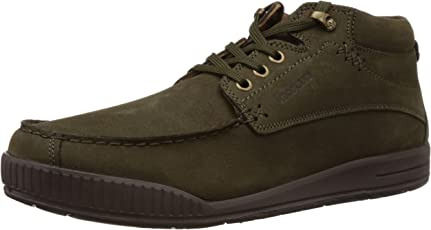 Woodland Men's Leather Espadrille Flats