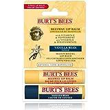 Burt's Bees Lippenbalsame, utmärkt valuta för pengarna med dubbelpack bestående av två av de mest populära, 100 % naturliga