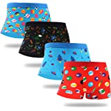 WeciBor Men's Boxer Shorts Colorful Underwear Cotton Trunks Funny Comfort Soft Briefs Gift Multipack