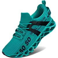 Vivay Men's running shoes, sports shoes, lightweight trainers, leisure shoes, breathable hiking shoes Size: 9.5 UK