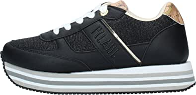 ALVIERO Martini Linea Junior P3A4 10892 0558 Sneakers Scarpe Donna Lacci Nero (Numeric_35)