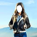 Frauen-Jacken-Foto-Montage