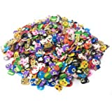 1000 Pieces Mini Accessories for Slime Crafts Nail Art and Face Decoration [Animal]