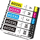 Cartridgeify 603 XL Compatibile con Epson 603 603XL Cartucce d'inchiostro Multipack, per Expression Home XP-2100 XP-2105 XP-3