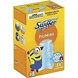 Swiffer Duster Piumini Cattura Polvere, 9 Panni, Cattura e Intrappola Polvere e Sporco, Ottimo per I peli di Animale, Per Tut