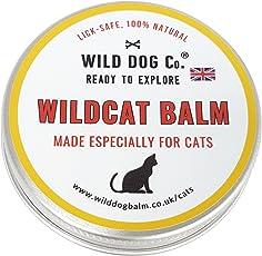 Katze Creme für Nase, Pfoten und juckende Haut, natürliche Wildcat Balsam zu beruhigen, Spenden Feuchtigkeit und Calm Ihre Katze 's Haut. Hergestellt in Den UK. 60ml Dose, Sehr konzentriert.