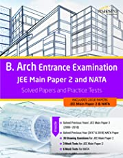 Wiley's B. Arch Entrance Examination JEE Main Paper 2 and NATA: Solved Papers and Practice Tests