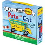 Pete the Cat Phonics Box : Includes 12 Mini-Books Featuring Short and Long Vowel Sounds (My First I Can Read)