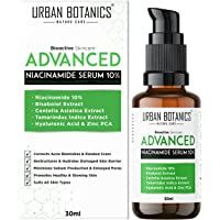 UrbanBotanics® 10% Niacinamide Face Serum for Acne, Acne Scars / Marks, Blemishes, Pigmentation & Oil Balancing with…