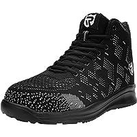 LARNMERN Chaussure de Securité Unisexes, SRC Antidérapantes Basket Securité Chaussures de Travail Chaussures de…