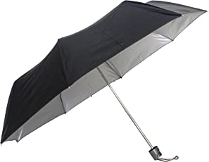 Sun Brand Black Folding Umbrella (Solar1)