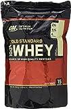 Optimum Nutrition Gold Standard Whey Eiweißpulver (mit Glutamin und Aminosäuren. Protein Shake von ON), Vanilla Ice Cream Eiweiß, 14 Portionen, 450g