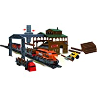 Power Train Turbos Sawmill Equipment Train Set, Multi Color