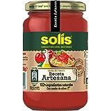 SOLIS Salsa de tomate Receta Artesana Frasco Cristal - 350g - Tomate Sin Gluten