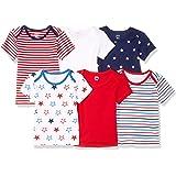 Amazon Essentials - Confezione da 6 magliette, da ragazzo